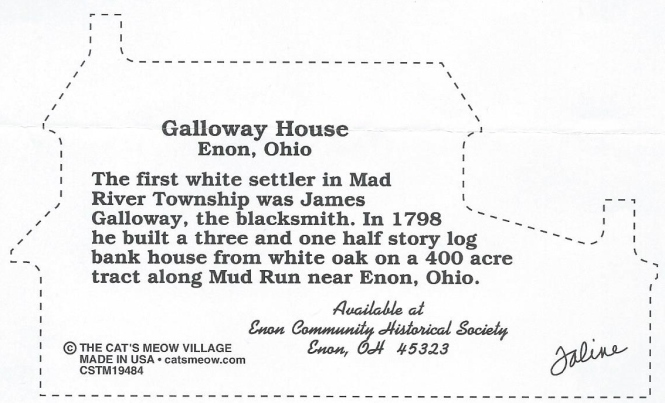 Cat's Meow Galloway House-back