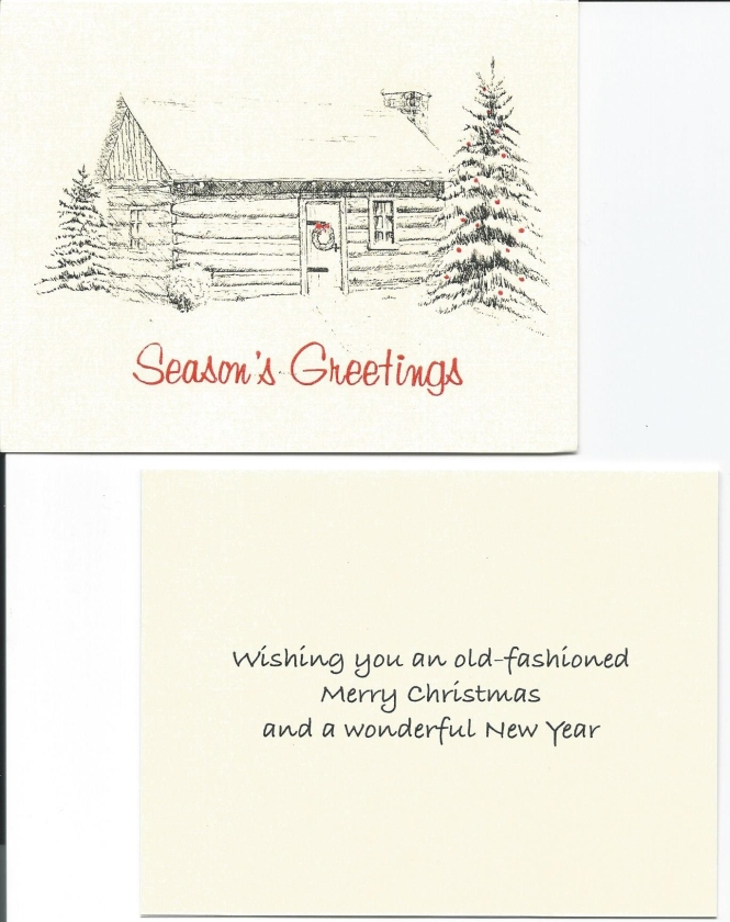 Christmas note cards-2019