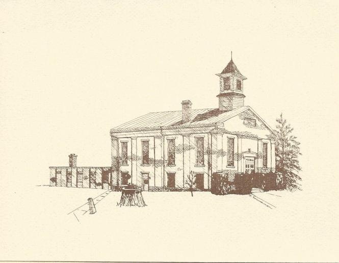 Knob Prairie Church notecard