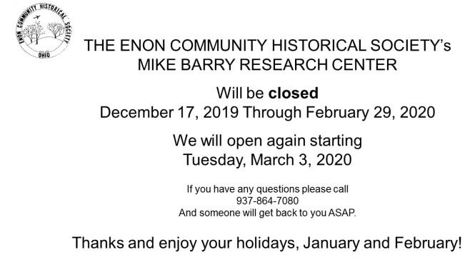2020 closures
