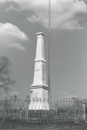 Civil War Monument-Enon Cemetery