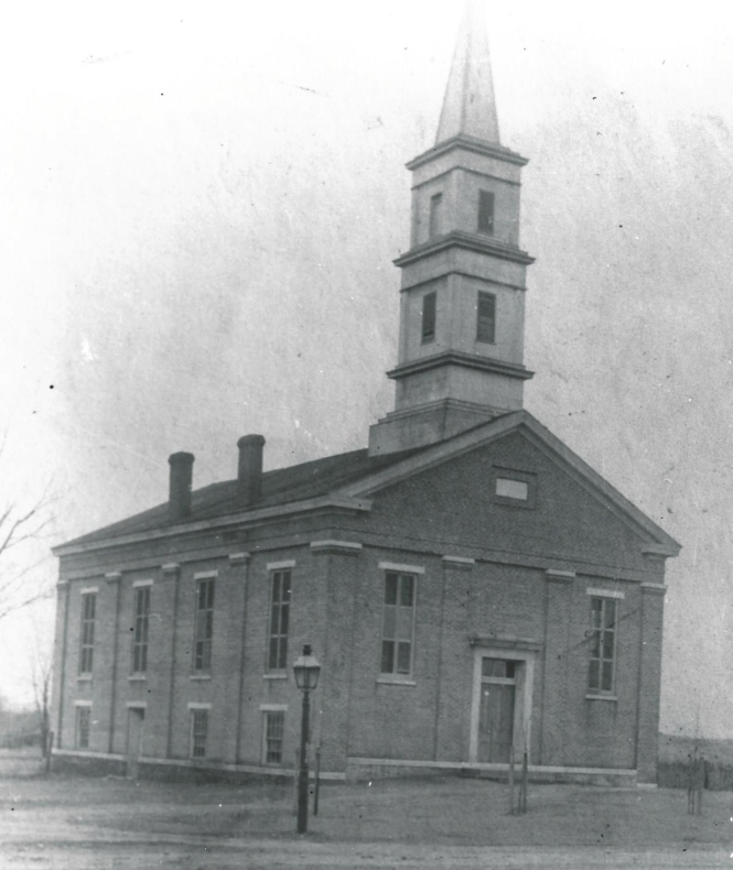 Knob Prairie Church-1851